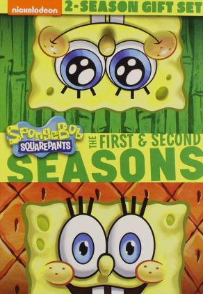 SpongeBob SquarePants The First and Second Seasons DVD